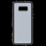 Coque Rigide Noir et plaque Alu pour Samsung S8 Plus