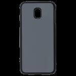 Coque TPU Noire et Plaque Alu pour Personnalisation Samsung J3 2016