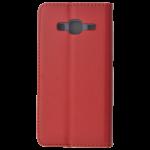 Etui Folio Magnet Rouge pour Samsung J3 2016