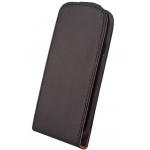 Etui à Rabat Elegance Noir pour Samsung S5 Mini
