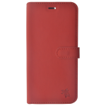 Etui Folio Trendy Rouge Pour Apple iPhone X
