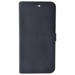 Etui Folio Trendy Noir Pour Samsung S7 Edge