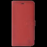 Etui Folio Trendy Rouge Pour Samsung S7 Edge
