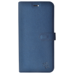 Etui Folio Trendy Bleu Pour Samsung S7 Edge