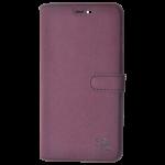 Etui Folio Trendy Violet Pour Samsung S7 Edge