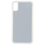 Coque Souple Transparent et plaque Alu pour Apple iPhone X