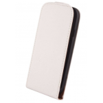 Etui à Rabat Elegance Blanc pour Apple IPhone 5/5SSE