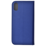 Etui Folio Magnet Bleu pour Apple iPhone X