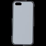 Coque Rigide Noir et plaque Alu pour Apple iPhone 5/5S/SE