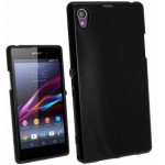 Coque TPU Glossy Noir pour Sony Z3