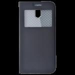 Etui Folio Fenêtre Noir pour Samsung J5 2017