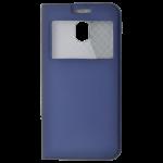 Etui Folio Fenêtre Bleu pour Samsung J5 2017