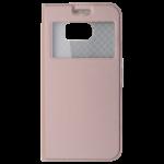Etui Folio Fenêtre Rose pour Samsung S8 Plus