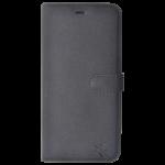 Etui Folio Trendy Gris Pour Samsung A8 2018