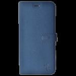 Etui Folio Trendy Bleu Pour Samsung A8 2018
