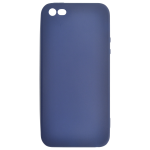 Coque TPU Soft Touch Bleu Apple iPhone 5/5S/SE