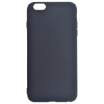 Coque TPU Soft Touch Noir Apple iPhone 6/6S Plus