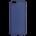 Coque TPU Soft Touch Bleu Apple iPhone 6/6S Plus