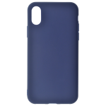 Coque TPU Soft Touch Bleu Apple iPhone X