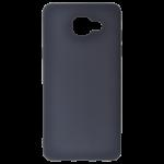 Coque TPU Soft Touch Noir Samsung A5 2016