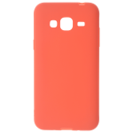 Coque TPU Soft Touch Rouge Samsung J3 2016