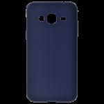 Coque TPU Soft Touch Bleu Samsung J3 2016