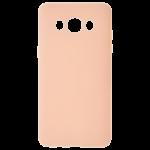 Coque TPU Soft Touch Rose Samsung J7 2016