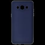 Coque TPU Soft Touch Bleu Samsung J7 2016