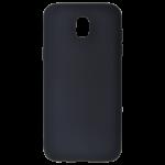 Coque TPU Soft Touch Noir Samsung J3 2017