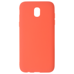 Coque TPU Soft Touch Rouge Samsung J7 2017