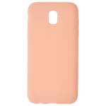 Coque TPU Soft Touch Rose Samsung J7 2017