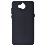 Coque TPU Soft Touch Noir Huawei Y6 2017