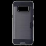Coque Defender Card Gris pour Samsung S8