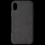 Coque Canvas Noir pour Apple iPhone X