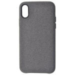 Coque Canvas Gris pour Apple iPhone X