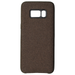 Coque Canvas Marron pour Samsung S8 Plus
