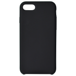 Coque Silicone Liquide Noir pour Apple iPhone 7/8