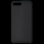 Coque Silicone Liquide Noir pour Apple iPhone 7/8 Plus