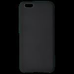 Coque Silicone Liquide Noir pour Apple iPhone 6/6S
