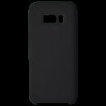 Coque Silicone Liquide Noir pour Samsung S8