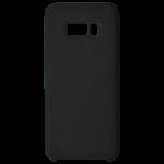 Coque Silicone Liquide Noir pour Samsung S8 Plus