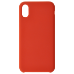 Coque Silicone Liquide Rouge pour Apple iPhone X
