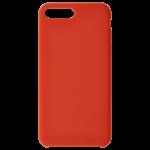 Coque Silicone Liquide Rouge pour Apple iPhone 7/8 Plus