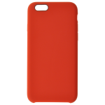 Coque Silicone Liquide Rouge pour Apple iPhone 6/6S