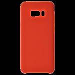 Coque Silicone Liquide Rouge pour Samsung S8
