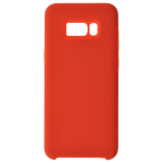 Coque Silicone Liquide Rouge pour Samsung S8 Plus