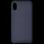 Coque Silicone Liquide Bleu pour Apple iPhone X