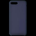 Coque Silicone Liquide Bleu pour Apple iPhone 7/8 Plus