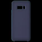 Coque Silicone Liquide Bleu pour Samsung S8 Plus