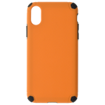 Coque Antichoc Orange pour Apple iPhone X